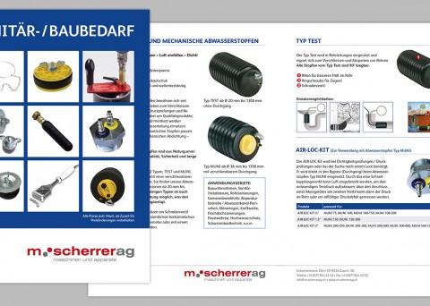 Prospektgestaltung M. Scherrer AG